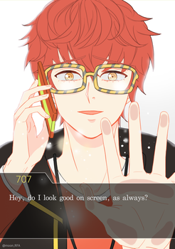 The fools day ending for 707 by MoonDaran
