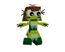 LDD Mixels: Nicki Model by Luqmandeviantart2000