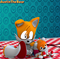 [Blender Internal] Tails and Tails Doll by AustinTheBear