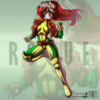 Rogue by Afroblue72