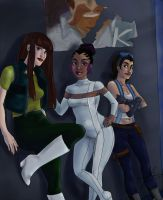 Ladies of Motorcity by MelodicMadness