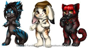 Furvilla Paintie Batch 4 by Temrin