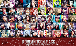 KOREAN ICON PACK by Fuckthesch00l