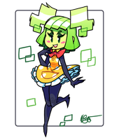 Mimi (Super Paper Mario) by The-Knick