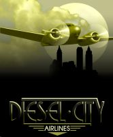 Diesel City Airlines by stefanparis
