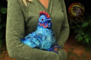 Sold, Poseable Blueberry Chicken! by Wood-Splitter-Lee