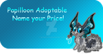 Papilloon Adoptable - CLOSED by JB-Pawstep