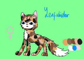 Leafwhisker [Hawkpaw's sister] Tryouts Closed by SolarNightengale