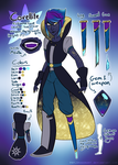 Silver Sun Judge: Covellite's ref by serpyra