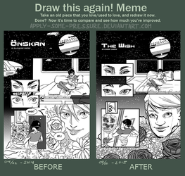 Before And After meme - The wish by Apply-Some-Pressure