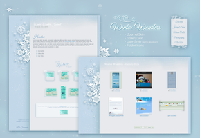 Winter Wonders - Journal + Gallery Skin