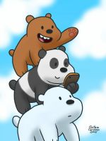 We Bare Bears by GustavoCardozo97