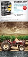 Selective Color Photoshop Actions by xgfxws