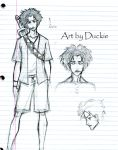 crappy mugen sketches by UchinanchuDuckie