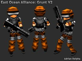 Alliance Grunt Revision by DelphaDesign