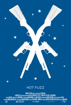 3 Flavors Trilogy: #2 'Hot Fuzz' poster by NewRandombell