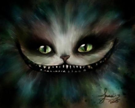 Cheshire Cat Alice In Wonderland by Imaginary2095