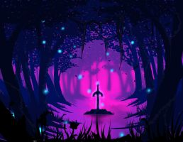 Lost Woods by dragonrage-