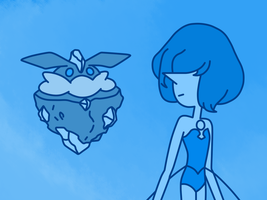 Blue pearl and carbink by digitalNAP