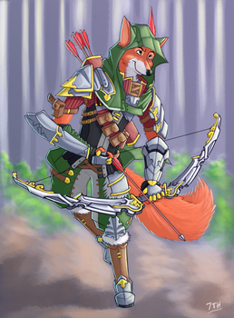 Disney's Robin Hood - The Dark Ages by 7THeaven