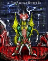 SD Gigan by RenDragonClaw