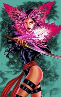 Psylocke Colors by CrisstianoCruz