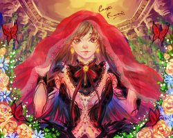 The Red Veil by CeryliaRectris