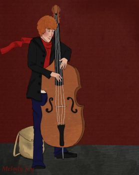 Standing Bass by ItsMeMelody