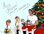 [Connor Kenway] Merry Christmas! by AngelPony99