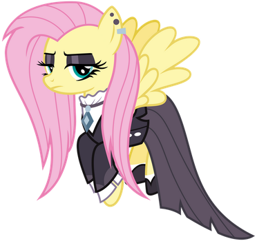 Fluttergoth by cheezedoodle96