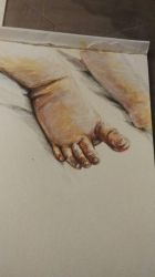 These are my toes by queenelf