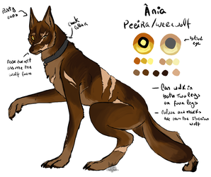 [ELNCL] Ania werewolf reference by DSerpente