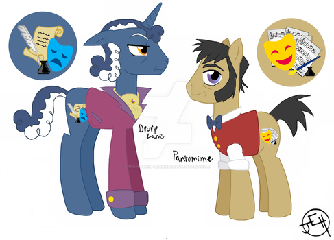 MLP OCs- Drury Lane and Pantomime