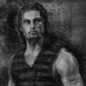 Roman Reigns by Tamayo423