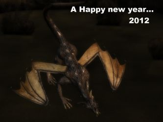 A Happy New Year... 2012 by gorn708