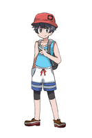 Pokemon Ultra Sun and Ultra Moon - Boy Protag by chocomiru02