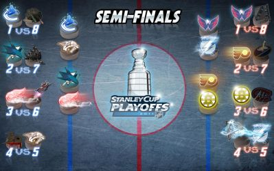 NHL STANLEYCUP SEMI-FINALS '11 by melies