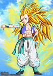 SSJ3 Gotenks has arrived! by x-Riivenge