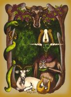 Horned Gods: Symbol of Fertility by ImogenSmid