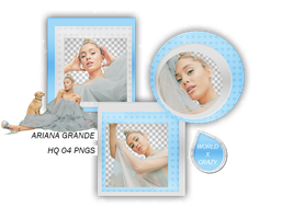+PACK PNG ARIANA OO3 by worldxcrazy