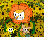 flowey cagney and lovely by richsquid1996