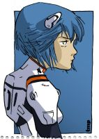 Ayanami Rei by timpu