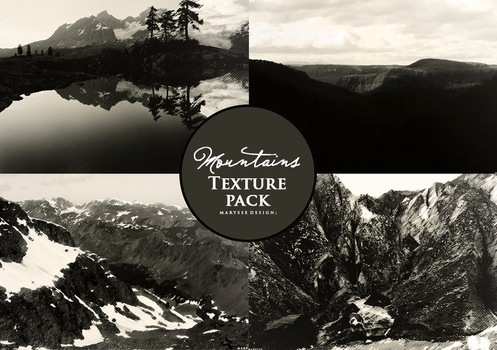 Mountains Textures Pack by Marysse93