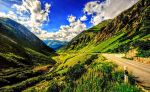 Mountain Valley Wallpaper by ROGUE-RATTLESNAKE
