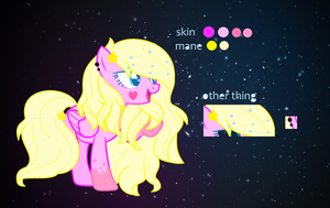 My oc ref ( i think this for 2017 ) by MelonaAngle