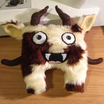 Hoggle soft toy! by StitchItMama