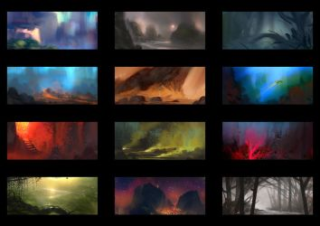 Color Thumbnails #2 by MartinBailly