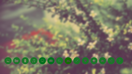 Roundgreen icons by Cherie2