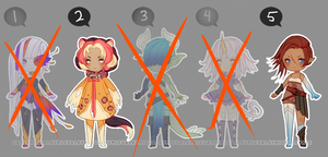 [OPEN - 2 + 5] Chibi Adopts by Valkymie