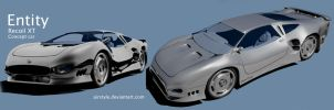Entity Recoil XT - Concept car by airstyle